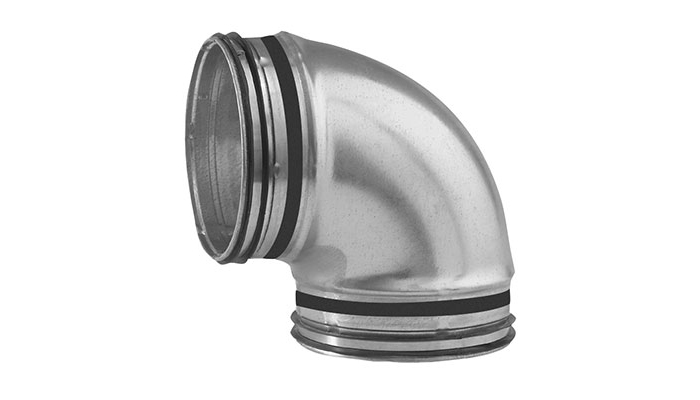 Air FILTER folded spiral-seam Tube Pipe Fitting Filter Ventilation Filter Exhaust Ventilation